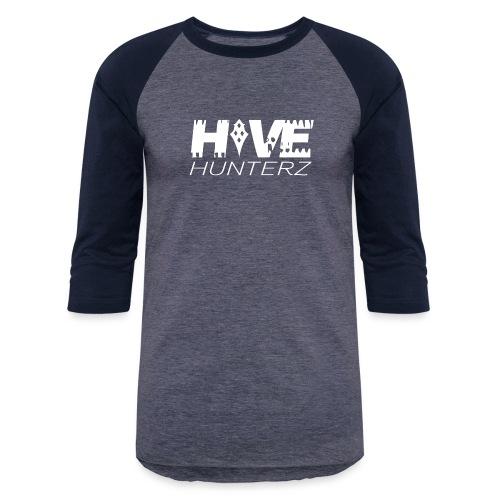 White Hive Hunterz Logo - Baseball T-Shirt