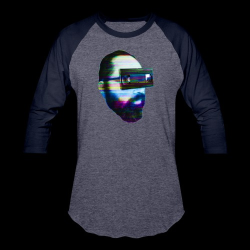 Spaceboy Music - Glitched - Baseball T-Shirt