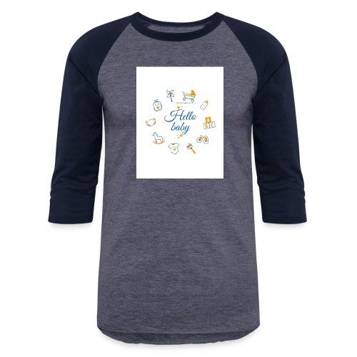 Hello baby - Unisex Baseball T-Shirt