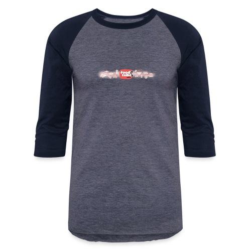FoodTube Waves - Baseball T-Shirt