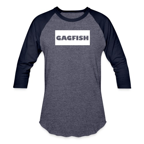 GAGFISH WIGHT LOGO - Baseball T-Shirt