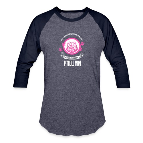 pitbullmom - Baseball T-Shirt