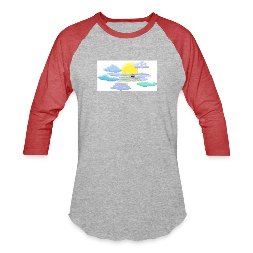 Sea of Clouds - Baseball T-Shirt