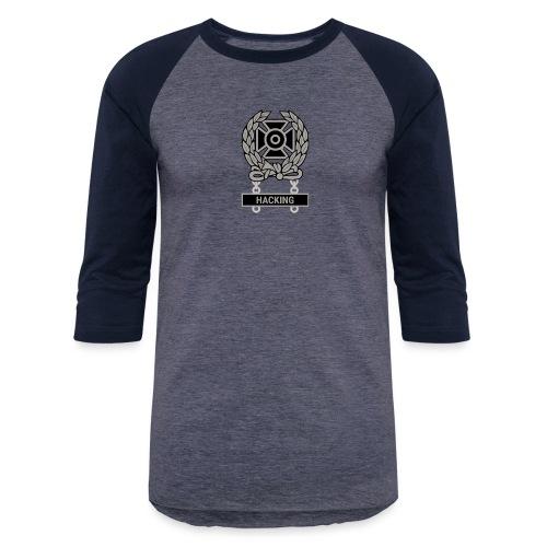 Expert Hacker Qualification Badge - Baseball T-Shirt