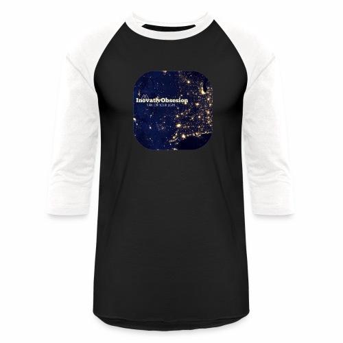 "InovativObsesion ""TURN ON YOU LIGHT"" Apparel - Baseball T-Shirt"