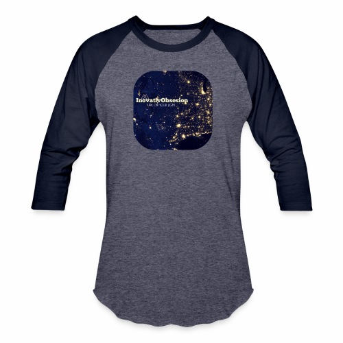 "InovativObsesion ""TURN ON YOU LIGHT"" Apparel - Baseball T-Shirt"