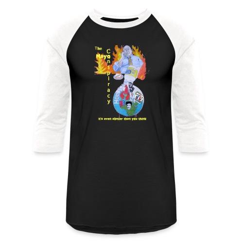 Mayo-Conspiracy - Baseball T-Shirt