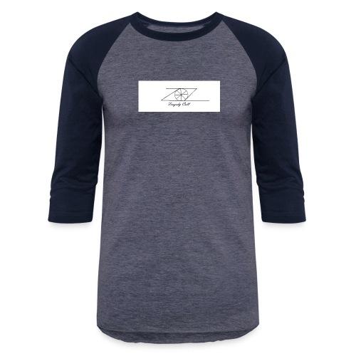 Tragedy Call Logo - Unisex Baseball T-Shirt