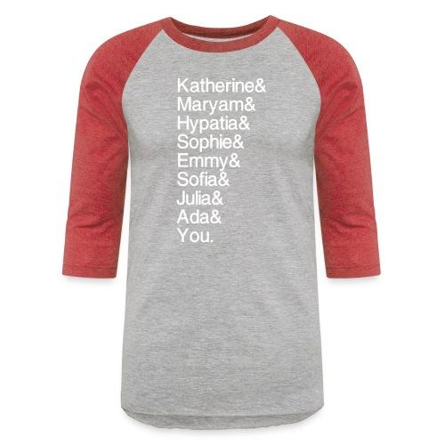 Women in Math (& You!) - Baseball T-Shirt