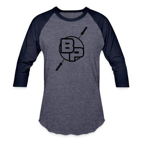 Barbell Physio Train Stronger T-Shirt - Unisex Baseball T-Shirt