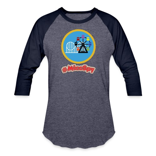 Paradise Pier Explorer Badge - Baseball T-Shirt