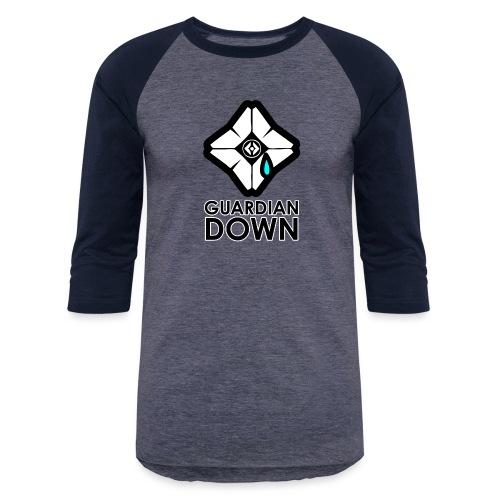 Guardian Down Ghost - Baseball T-Shirt