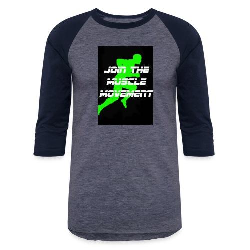 muscle movement - Baseball T-Shirt