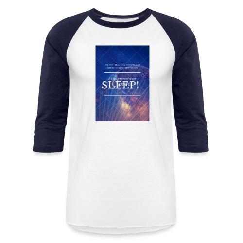 Sleep Galaxy by @lovesaccessories - Baseball T-Shirt