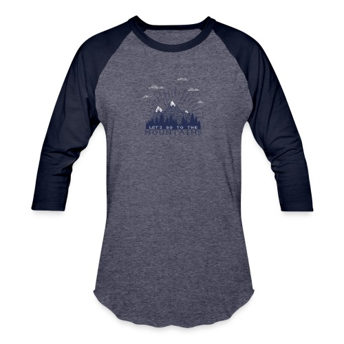 Adventure Mountains T-shirts and Products - Baseball T-Shirt