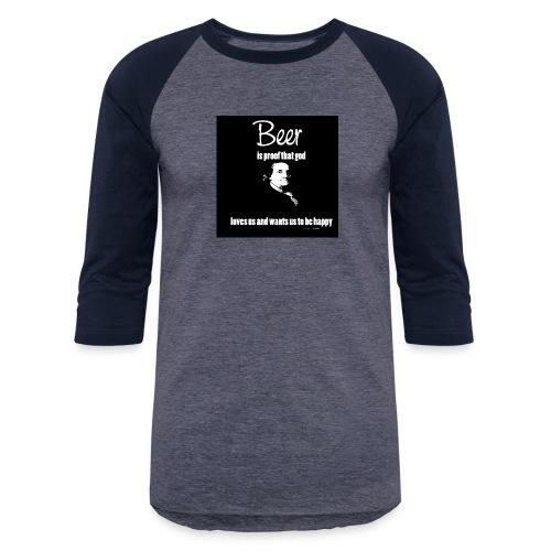 Beer T-shirt - Baseball T-Shirt