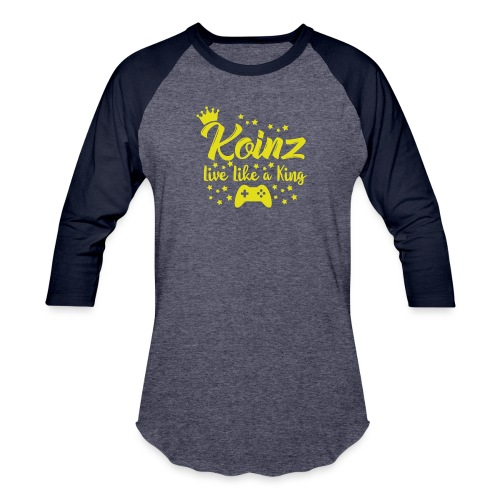 Live Like A King - Baseball T-Shirt
