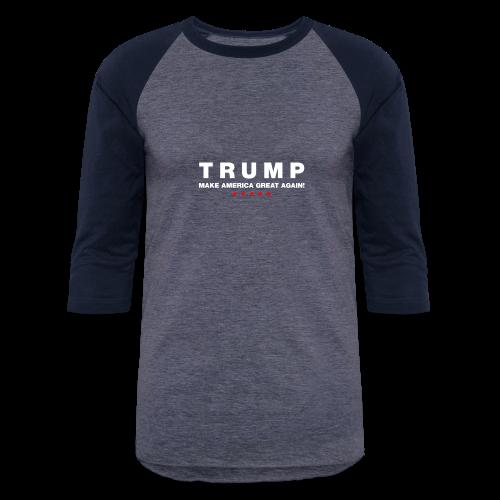 Official Trump 2016 - Baseball T-Shirt