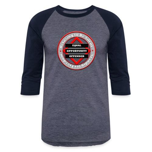 Equal Opportunity Offender - Unisex Baseball T-Shirt