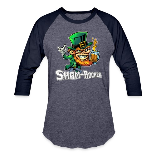 Sham-Rocker [Variant] - Unisex Baseball T-Shirt