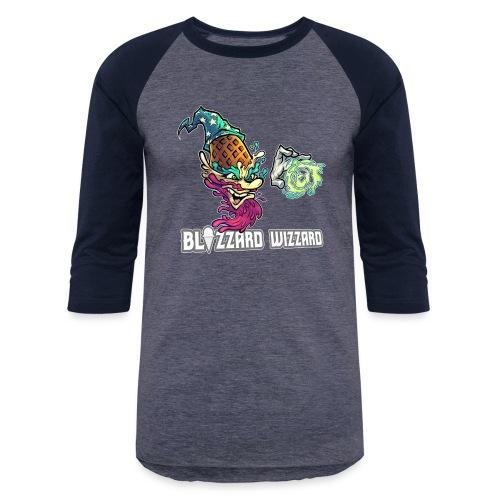 Blizzard Wizzard [Variant] - Unisex Baseball T-Shirt