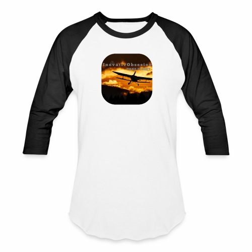 "InovativObsesion ""TAKE FLIGHT"" apparel - Baseball T-Shirt"