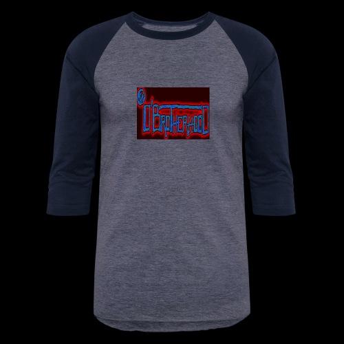 The D'BroTHerHooD Logo - Unisex Baseball T-Shirt