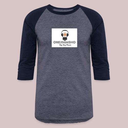 ONEmanSHO LOGO - Unisex Baseball T-Shirt