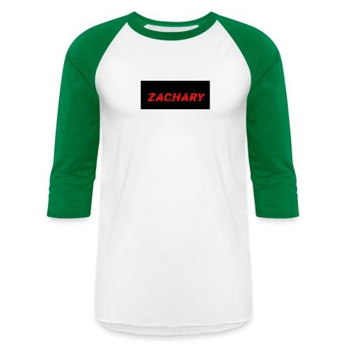 ZACHARY LOGO 9 - Unisex Baseball T-Shirt
