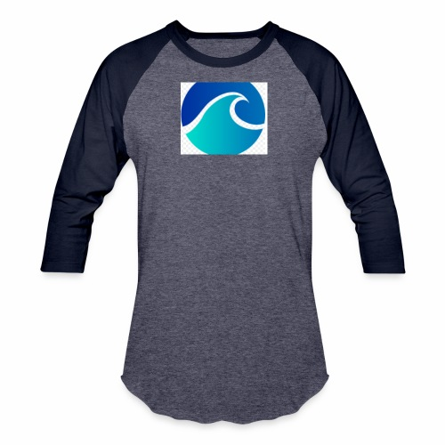 The Wave - Baseball T-Shirt