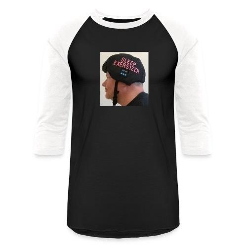 Sleep Exersizer Helmet Model - Unisex Baseball T-Shirt