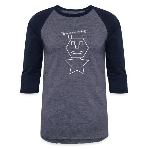 star in the making - Unisex Baseball T-Shirt