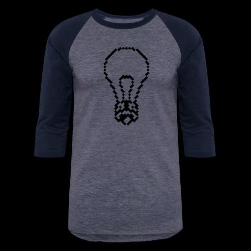 lightbulb by bmx3r - Baseball T-Shirt