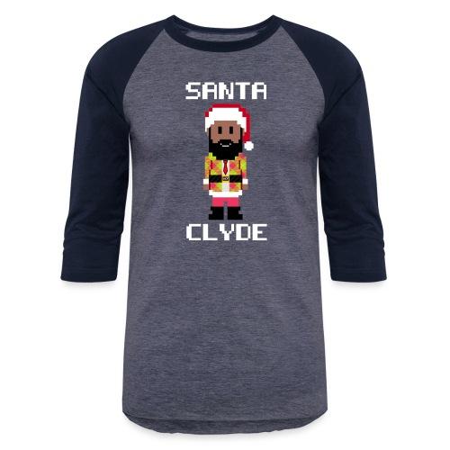 Santa Clyde So Fly (8-Bit) - Unisex Baseball T-Shirt