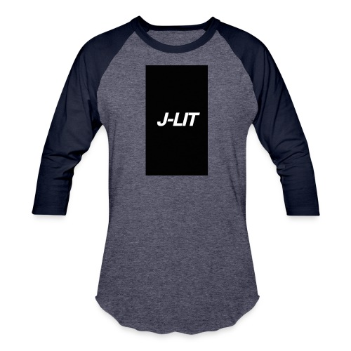 J-LIT Clothing - Unisex Baseball T-Shirt