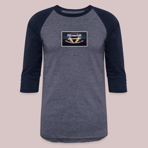 ONEmanSHOmusic.com - Unisex Baseball T-Shirt