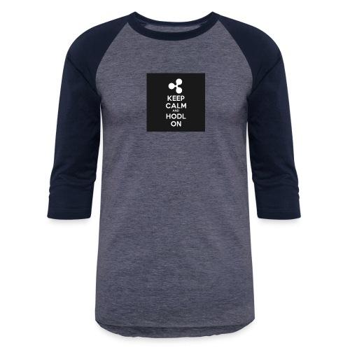 303984810 1020176758 KEEP CALM and HODL ON 1 - Unisex Baseball T-Shirt