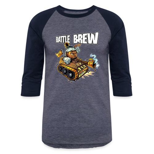 Battle Brew [Variant] - Unisex Baseball T-Shirt
