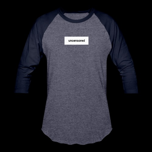 uncensored brand - Baseball T-Shirt