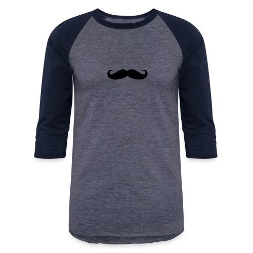 mustache - Baseball T-Shirt