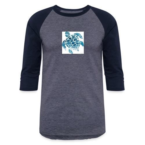 turtle - Unisex Baseball T-Shirt