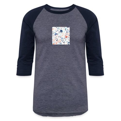 flowers - Baseball T-Shirt