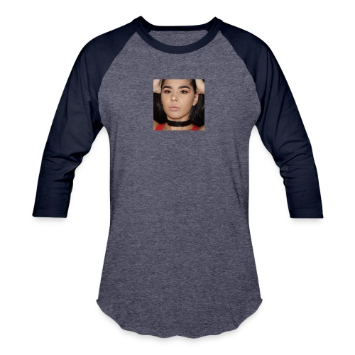 Orange & Black Cut Crease - Baseball T-Shirt