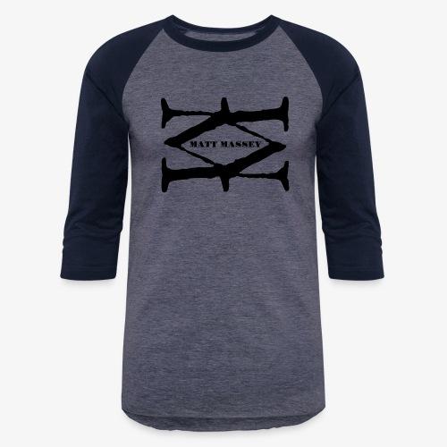 Matt Massey Logo Black - Baseball T-Shirt