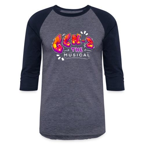 Gen Z Musical Logo - Unisex Baseball T-Shirt