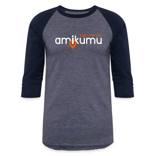 Kaptu min per Amikumu Blanka - Baseball T-Shirt