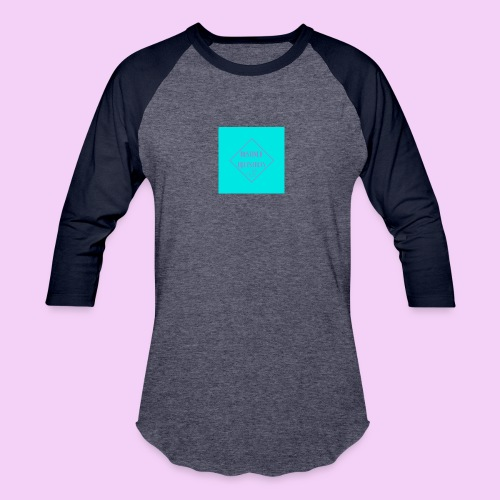 Destined Equestrian Logo - Unisex Baseball T-Shirt