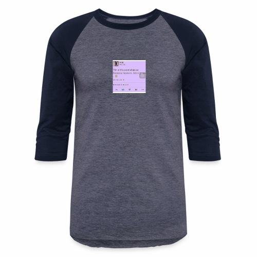 Idc anymore - Baseball T-Shirt