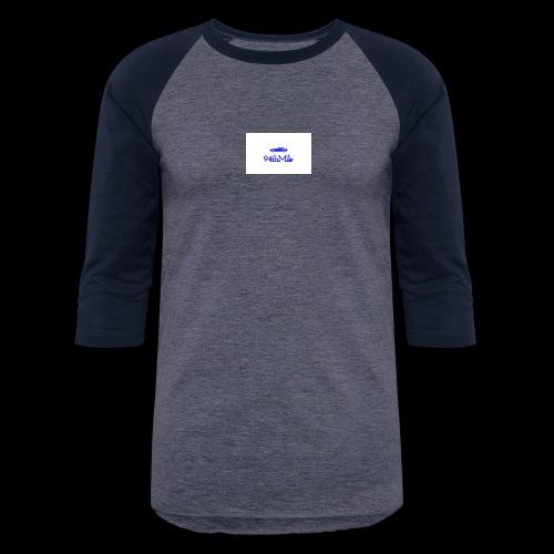 Blue 94th mile - Baseball T-Shirt