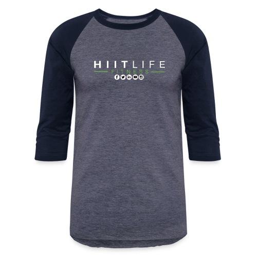 hlfsocialwht - Baseball T-Shirt